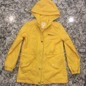 Forever 21 yellow utility jacket